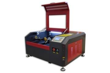 CO2 50W Laserový plotter RD 40x40 + Rotačná os