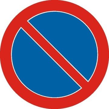 Cestné znamenie B35 600mm Žiadny zákaz o parkovaní