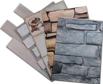 PVC opláštenie 3D stenové panely VZORKA VZORKA