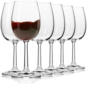 Okuliare na víno Krosno čisté 350 ml Základný