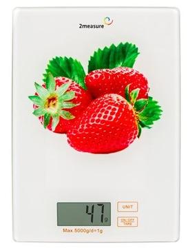 Elektronická kuchynská škála 5kg Strawberry 320215