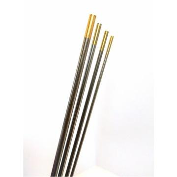 TIG zlatá volfrámová elektróda 2,4 mm