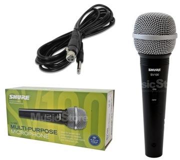 Shure SV100 Vokálny mikrofón s konektorom + kábel