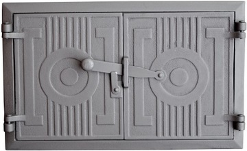 Liatinové dvere do pece, udiareň 43x27