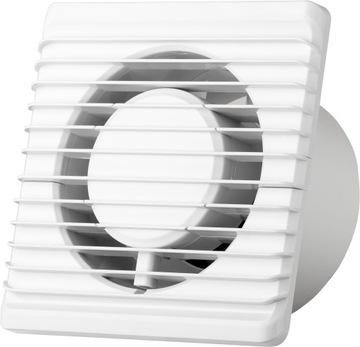 Kúpeľňa Ventilátor Silent Fi100 Higrostat Timer