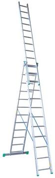 Rebrík Hliníkový rebrík Drabex TP4200 3x12