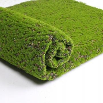 Umelá zelená stena Umelý mach Mat