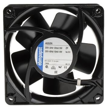 Axiálny ventilátor EBM Papst 4650N 230V