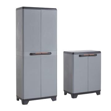 2V1 Hospodárske skrine BHP regály pre barement garáže