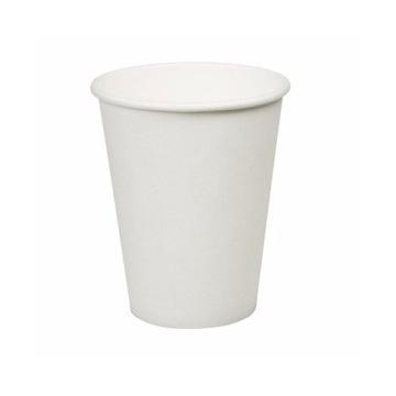 Biele papierové poháre jednorazové 250ml 100ks