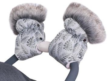 Quali MUFKI s kožušinovými rukavicami pre SLEDGE TROLLEY