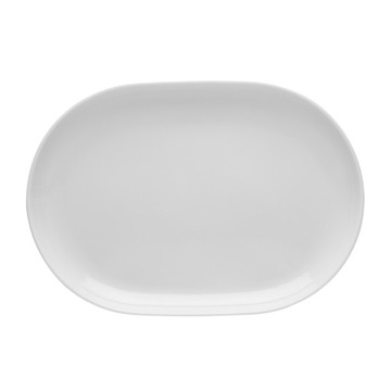 Lubiana Boss White oválny tanier 28 cm