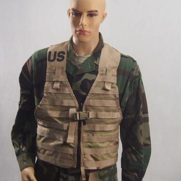 Nová vesta flc púštne 3 farebné americké armády