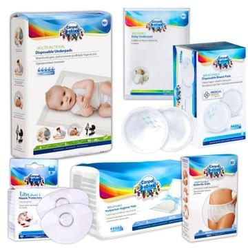 CANPOL NEMOCNICOVÉ ROZLOŽENIE pre mamu - 6 produktov
