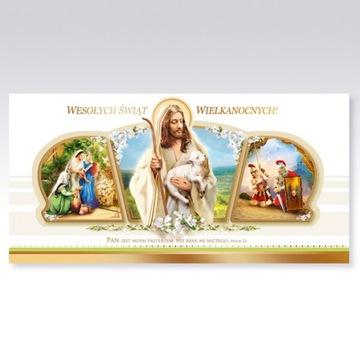 Carnet Vianočné Card Easter + obálka 1 ks