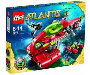 LEGO Atlantis 8075 Nákladná loď Neptún