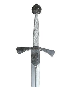 Stredoveké jednorazové pánske kovania, replika