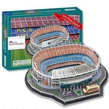NOU CAMP FC BARCELONA PUZZLE 3D STADIUM