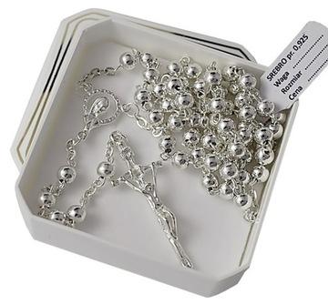 Ruženec Silver BAPTIMA Communion Silver 925 + Gravírovanie