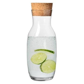 Karafa pre vodu s čistou zátkou KROSNO 1L