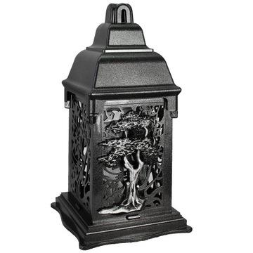 Sviečka s vložkou do svätyne .Umělecký lampáš