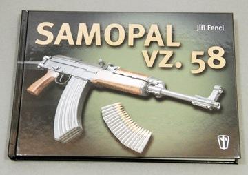 Kniha Bohemian Rifle Samopal VZ58 WZ58 SA AK47