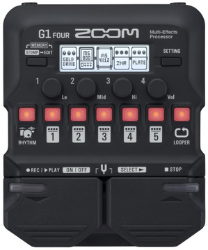 Zoom G1 Four Guitar Multi-Efect