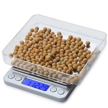 Kuchynská presná mierka 2000g 2kg / 0.1g