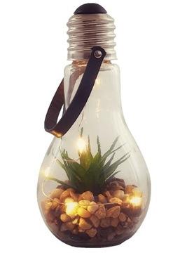 Sukulentná žiarovka dekoratívne lampy balkón ornament