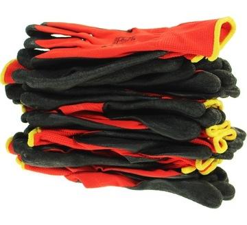 10 párov Rukavice Pracovné rukavice 9 Silné