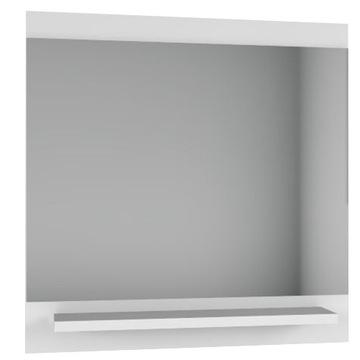 Zrkadlo s bielym poličkou