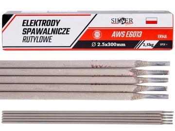 Zváracie elektródy RUTILE 2,5 mm 2,5 kg Pink