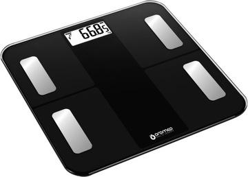 ANALYTICKÁ KÚPEĽŇA VÁHY BLUETOOTH BMI 12v1 + USB
