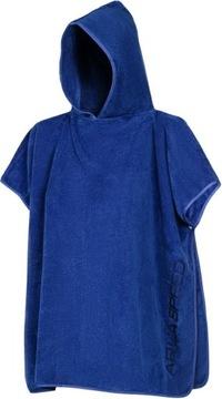 KIDS PONCHO uterák KÚPEĽŇA 80X140 plášť AQUA