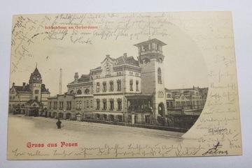 Poznań. Starý bitúnok. Garbary 1901