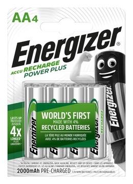 4 x Energizer R6 / AA NI-MH 2000MAH Batérie