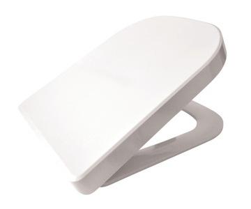 WC sedadlo pre ROCA GAP, jemné zatváranie, odblokovanie