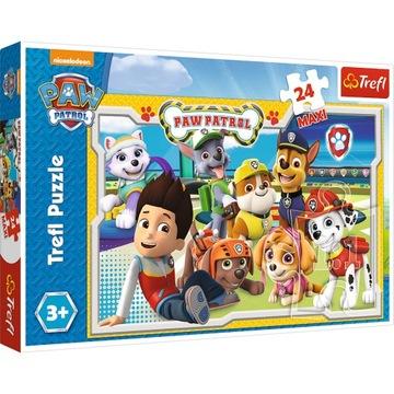 Trefl Puzzle Maxi Paw Patrol 24 dielikov 14 287