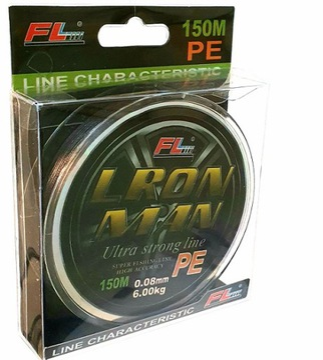 PE 0,25 / 150m / 20,2kg Pike Sandacle
