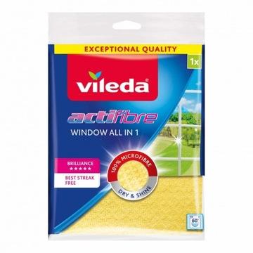 Vileda Actifibre okenné tkaniny Veľmi absorpčné