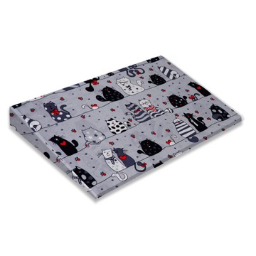 CUSHION posteľový klin 60/36 bavlna - vzory
