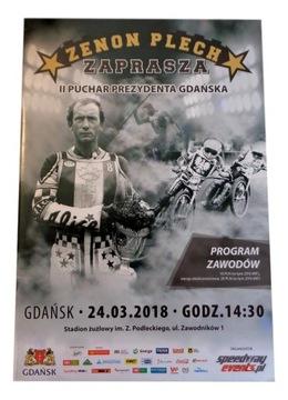 Prezident Speedway Program Gdańsk Plech