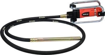 Vibrátor Yato Compactor 2400W + buma 4m