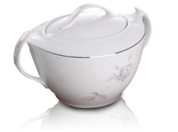 Váza pre Platinum Soup Bid Strap White