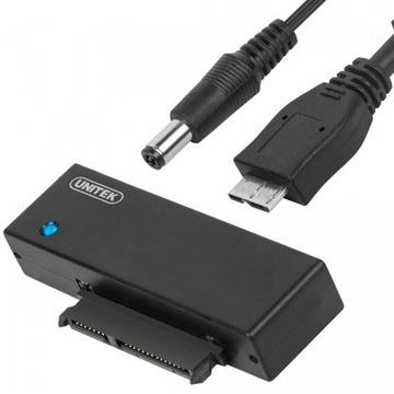 UNITEK ADAPTER USB3.0 SATA HDD / SSD 2,5 3,5 Y-1039