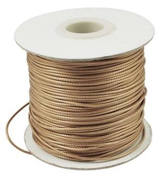 Voskovaná nylonová šnúra 0,5 mm - 3 metre