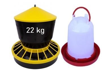 Loin + Caramiller pre hydinu KUR 15L + 22KG Kačice