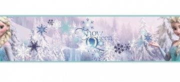 Ozdobný pásik, samolepiaci na stenu Frozen