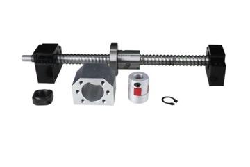 Guľová skrutka 500mm 2005 Nut + BK15 / BF15 CNC