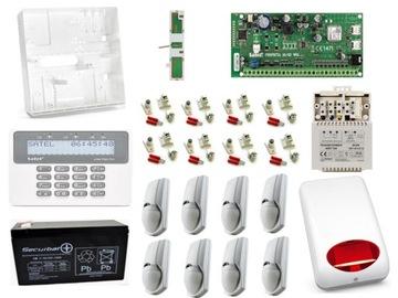 Satel kompletný alarm Perfecta 8 detektorov GSM SMS